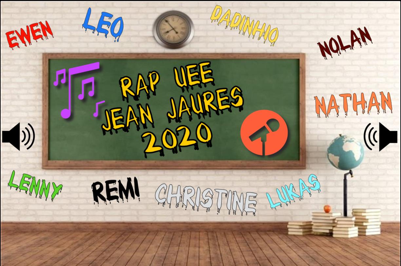 Ecoutez le RAP de l'UEE Jean Jaurès 2020